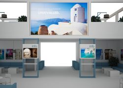 Aegean Islands Exhibition Stand 1